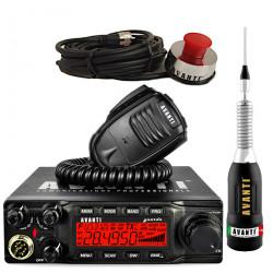 Statie Radio Avanti Guarda PRO-version cu Antena Avanti Regale Plus si Suport de Portbagaj Avanti
