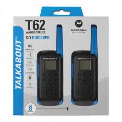 Motorola Talkabout T62 Walkie Talkie Twin-Pack