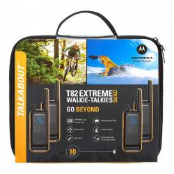 Walkie Talkie PMR446 Motorola Talkabout T82 Extreme Quad Geanta