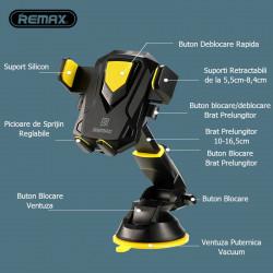 Suport Universal Telefon Remax Transformer RM-C26 Foto 3