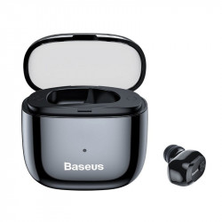 Mini Casca Bluetooth Baseus Encok A03 Case Charging Black Foto 7