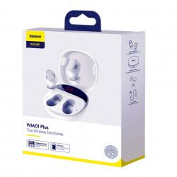 Casti Audio Bluetooth Baseus Encok WM01 Plus, Charging Case, Bluetooth V5.0 foto6