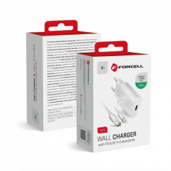 Incarcator Retea Forcell PD QC4.0 Fast Charge 20W 5903396072451 FOTO 3