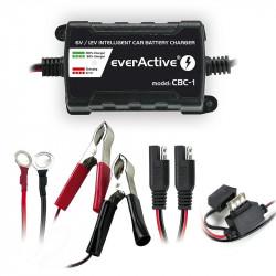 Redresor Incarcator cu Procesare EverActive CBC-1 V2, pentru acumulatori 6/12V auto, moto, barci
