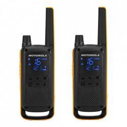 Statie Radio Portabila PMR446 Motorola Talkabout T82 Extreme Twin, casti cu microfon incluse