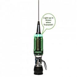 Antena CB Sirio Performer P 5000 LED, fara cablu, 197cm