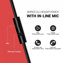 Casti Audio Over Ear Stereo OneOdio Pro-10 In-Line Mic
