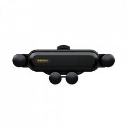 Suport Auto Universal Remax Gravity RM-C40, Montaj pe grila de ventilatie, Negru