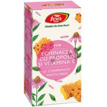 Echinacea propolis + Vit C 63 cpr Fares