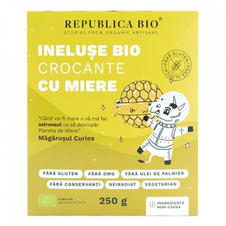 Ineluse crocante cu miere f.gluten Eco 250g Republica Bio