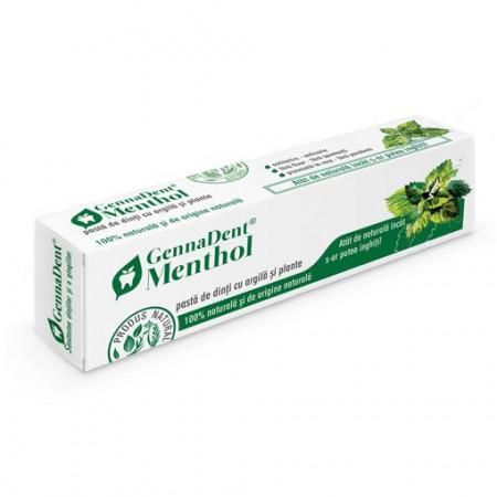 Pasta dinti gennadent menthol 80ml Viva Natura