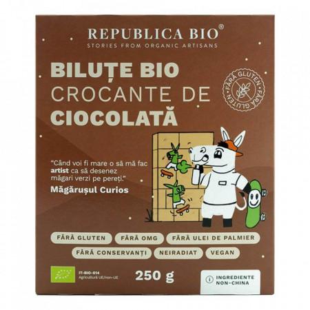 Bilute crocante de ciocolata fara gluten Eco 250g Rep.Bio