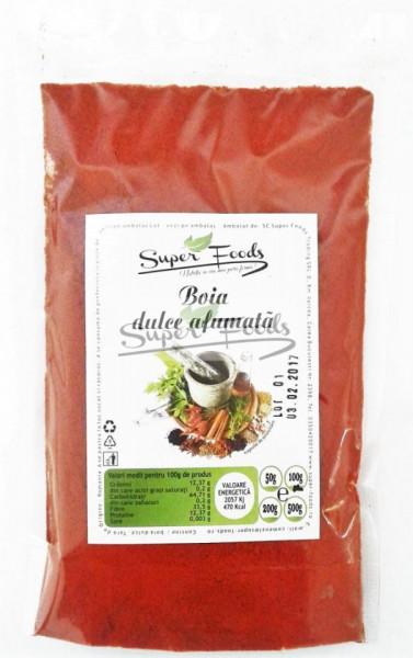 Boia dulce afumata 50g Super Foods