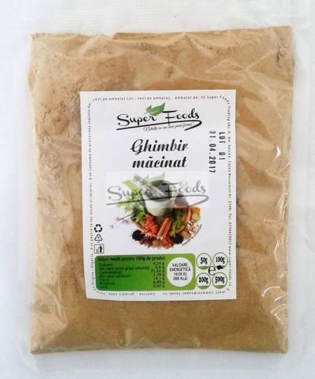 Ghimbir macinat 100g Super Foods