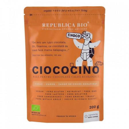 Ciococino baza pentru ciocolata calda Eco 200g Rep Bio
