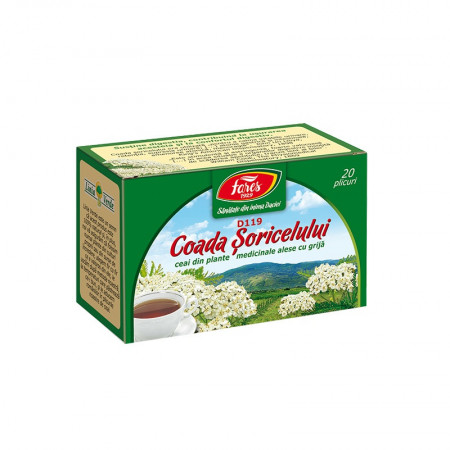 Coada soricelului ceai 20 plicuri Fares