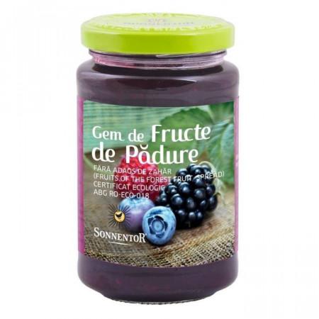 Gem fructe de padure fara zahar 250g Sonnentor
