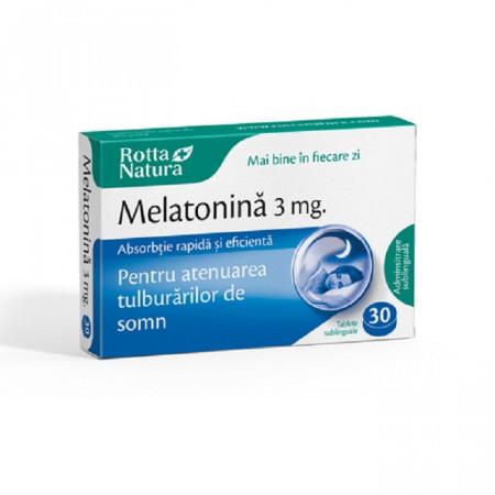Melatonina 3mg 30tb Rotta Natura