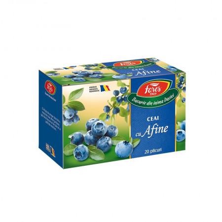 Ceai cu afine 20 plicuri Fares