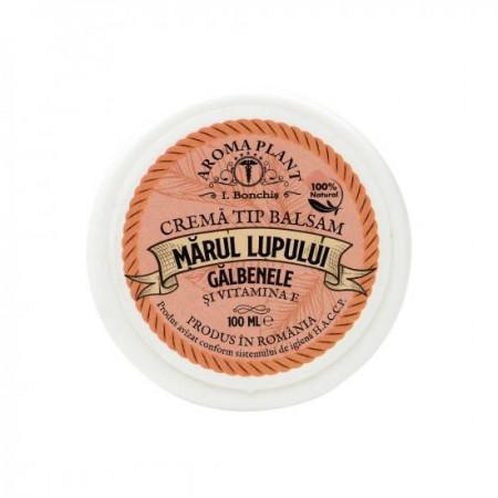 Crema marul lupului, galbenele si vitamina E 100gr Aroma Plant
