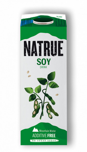 Lapte vegetal din soia 1L Natrue