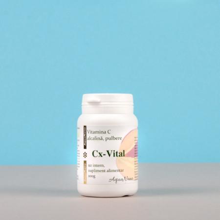 Vitamina C alcalina tamponata (pulbere)