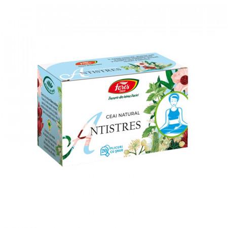 Antistres ceai 20 plicuri Fares