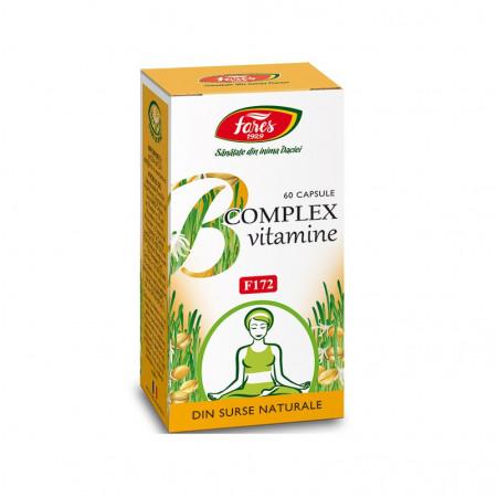 B Complex vitamine nat 60cps Fares
