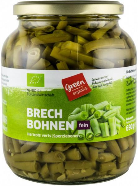 Eco/Bio fasole verde 690gr Green Organic