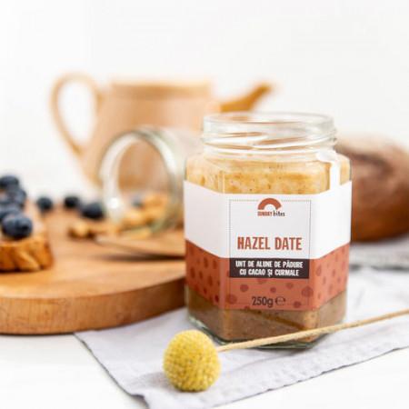 Hazel date (unt de alune de padure cu cacao si curmale) 250g