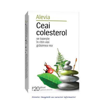 Ceai colesterol x20 plicuri Alevia