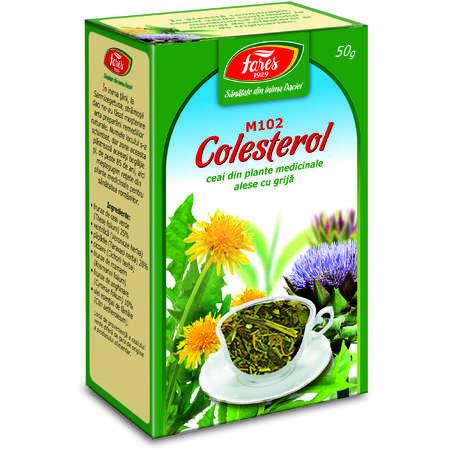 Colesterol ceai pg 50g Fares