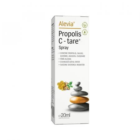 Propolis C-tare spray x20ml 100% natural Alevia