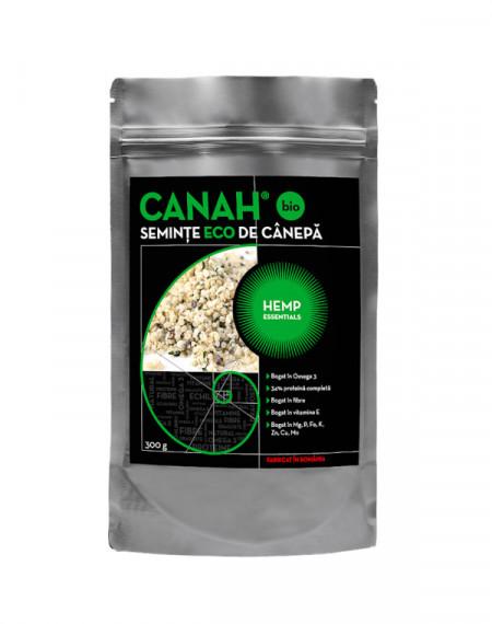 Seminte decorticate de canepa 300gr Canah