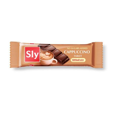 Tableta( ciocolata) cappuccino 25g Sly