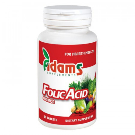 Acid folic 400mg. 30 tab.