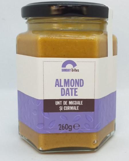 Almond Date (Unt de migdale si curmale) 260 gr Sunday Bites