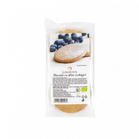 Biscuiti cu crema de afine Eco 175g Longevita