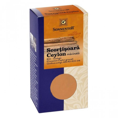 Condiment scortisoara ceylon macinata Eco 40g Sonnentor