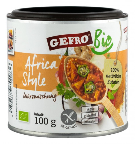 Eco/Bio amestec de condimente africa style 100g