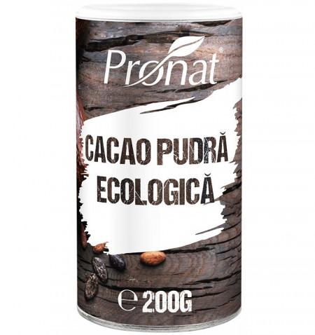 Eco/Bio pudra de cacao 200gr Pronat