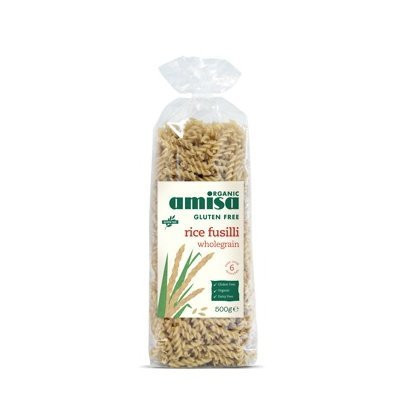 Fusili din orez integral fara gluten Eco 500gr