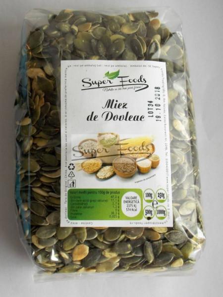 Miez dovleac crud 100g Super Foods