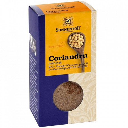 Condiment-coriandru macinat eco 40g Sonnentor