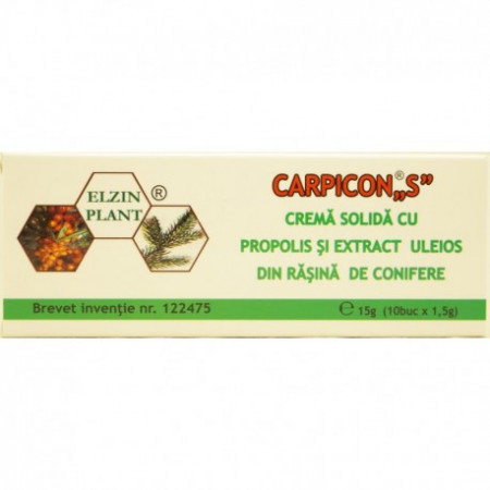 Crema solida cu propolis in forma de supozitoare Alvarium 20g