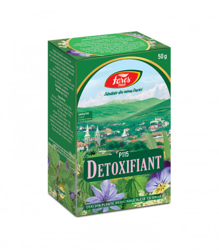 Detoxifiant, purif.org. 50g Fares
