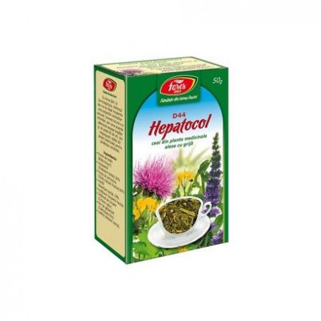Hepatocol ceai pg 50g Fares