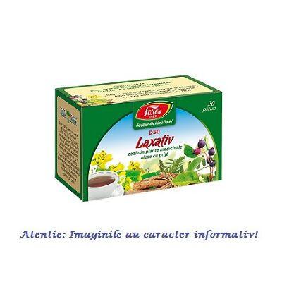 Laxativ ceai 20 plicuri Fares