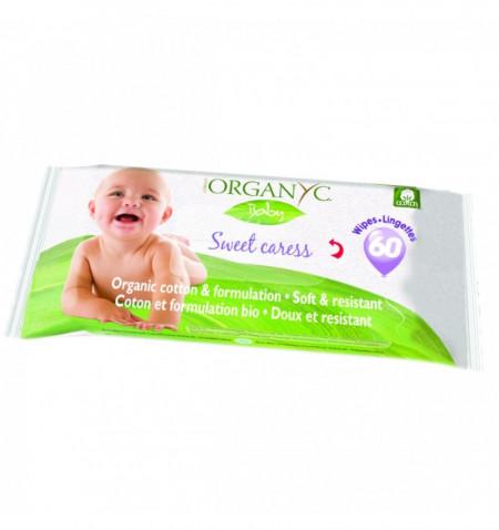 Organy bio servetele umede pentru bebe 60buc