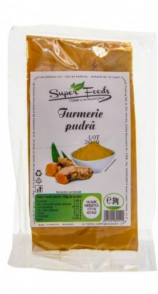Turmeric macinat 50g Super Foods